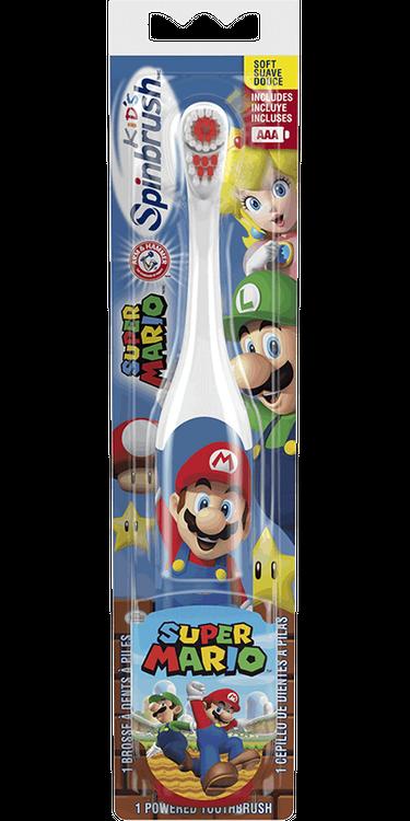 Spinbrush™ Super Mario and Princess Peach™ Toothbrush