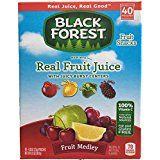 Black Forest Medley Juicy Center Fruit Snacks, Mixed Fruit Flavors (Pack of 10)