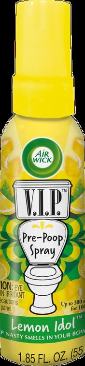 Air Wick® V.I.P Toilet Perfume - Lemon Idol
