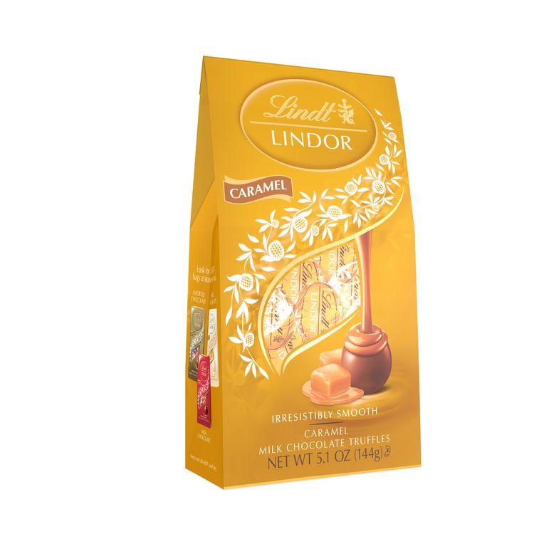 Lindt LINDOR Caramel Bag 5.1oz