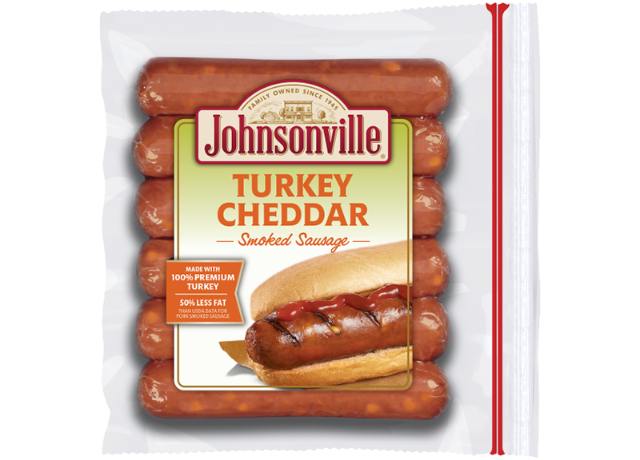 Johnsonville Turkey Sausage with Cheddar Links
