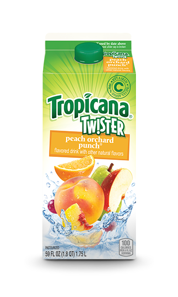 Tropicana Twister Peach Orchard Punch