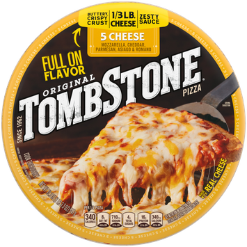 Tombstone 5 Cheese Frozen Pizza
