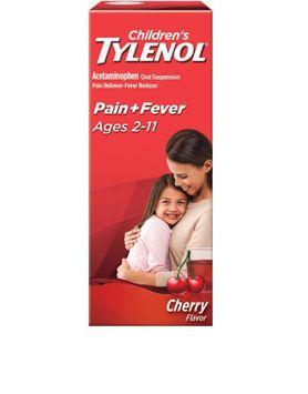 Tylenol® Children's Liquid Medicine Reduces Fever & Relieves Pain, Flu Symptoms, Headache & Sore Throat