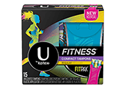 U by Kotex® Fitness* Tampon