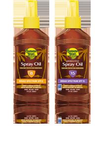 Banana Boat Spray Oils