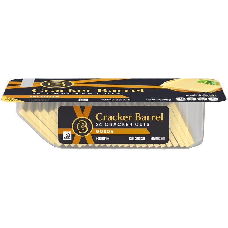 Cracker Barrel Gouda Cracker Cuts Cheese, 7.0 oz Package