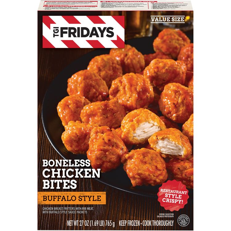 TGI Friday's Boneless Chicken Bites With Buffalo Style Sauce