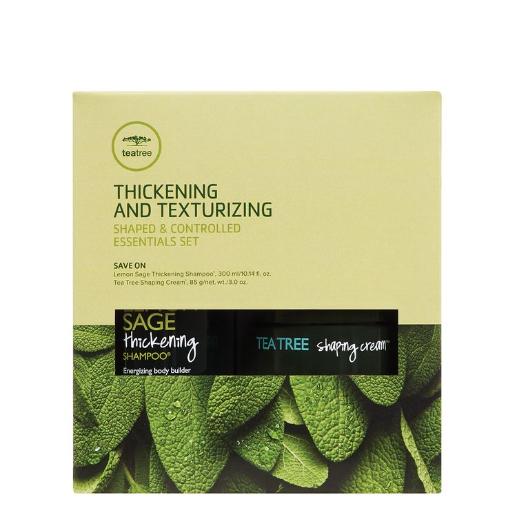 Tea Tree Lemon Sage Thickening and Texturizing Set