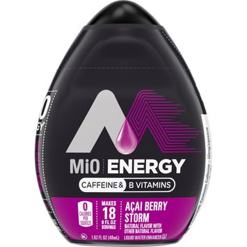 MiO Energy Acai Berry Storm Liquid Water Enhancer with Caffeine