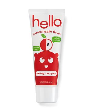 Hello toddler training toothpaste