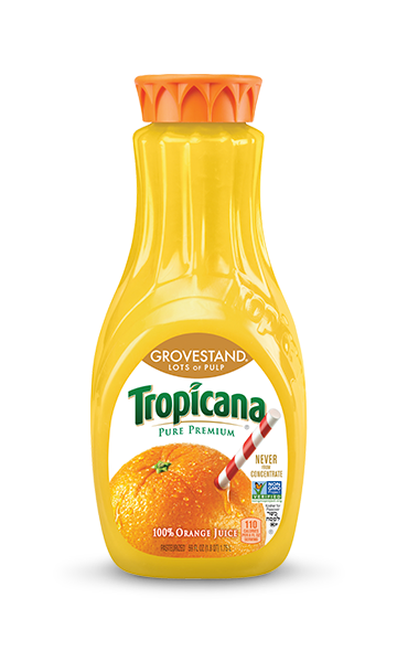 Tropicana Pure Premium Grovestand (Lots of Pulp)