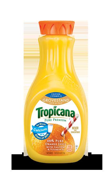 Tropicana Pure Premium Calcium + Vitamin D (Grovestand)