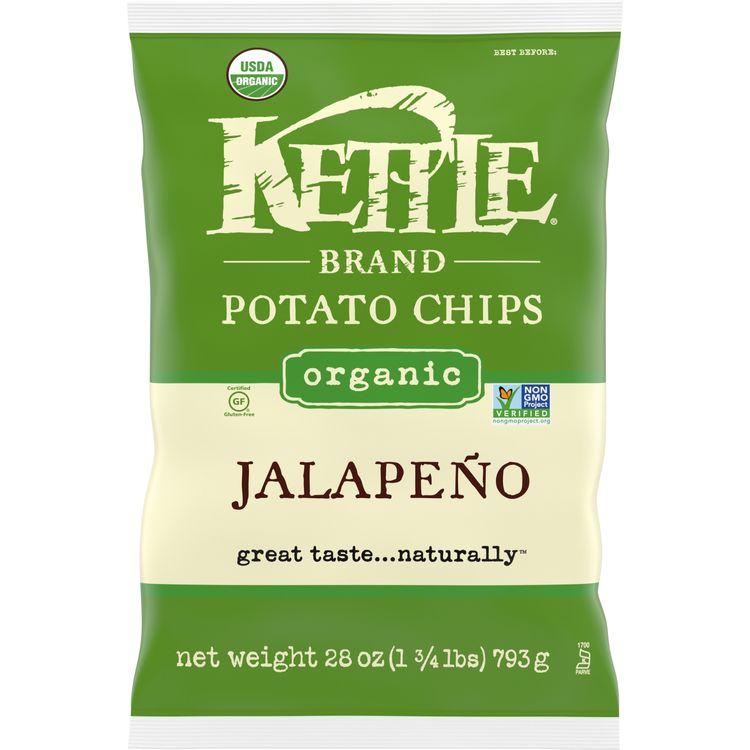 Kettle Brand® Potato Chips, Jalapeno Kettle Chips