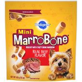 PEDIGREE® MARROBONE™  Real Beef Flavor Toy/Small Snacks for Dogs