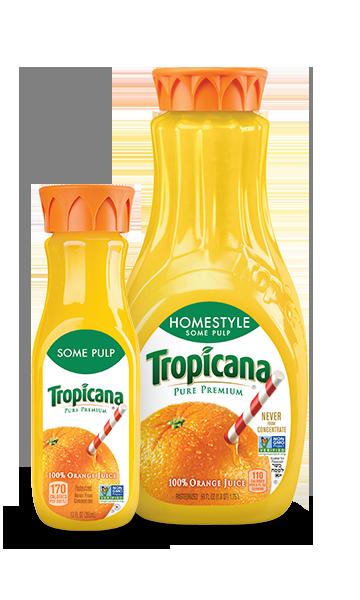 Tropicana Pure Premium Homestyle (Some Pulp)