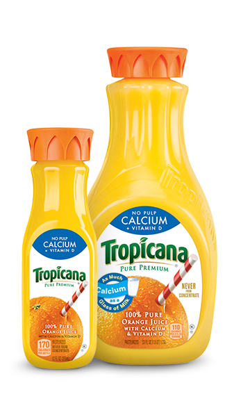 Tropicana Pure Premium Calcium + Vitamin D (No Pulp)