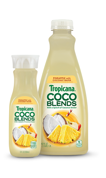 Tropicana CoCo Blends Pineapple with Coconut Water