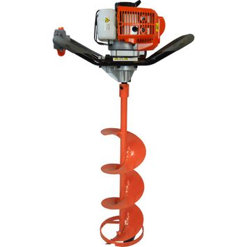 Gas Powered 52 cc 2-Cycle Ice Auger