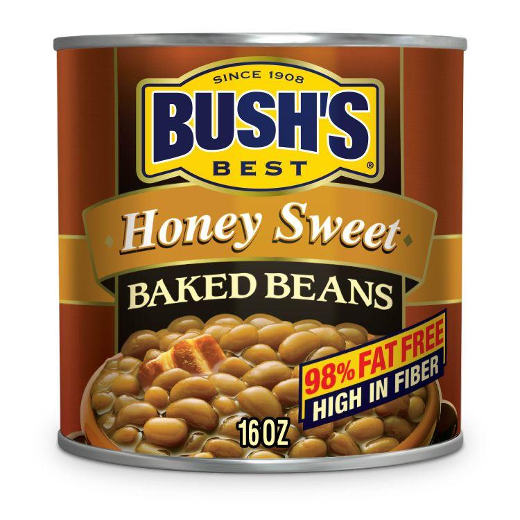 BUSH'S Honey Sweet Baked Beans