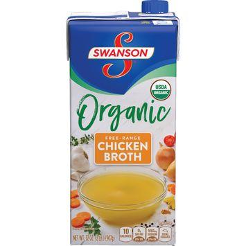 Swanson® Organic Free-Range Chicken Broth