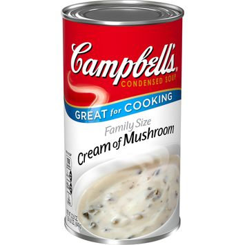 Campbell's® Condensed Family Size Cream of Mushroom Soup, 22.6 oz.