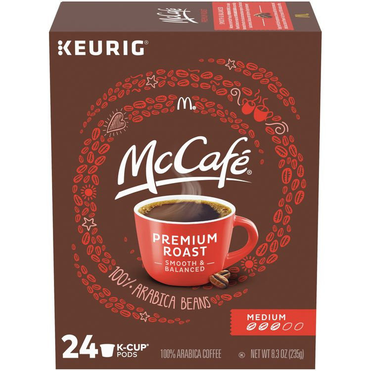 McCafe Medium Premium Roast Coffee Pods