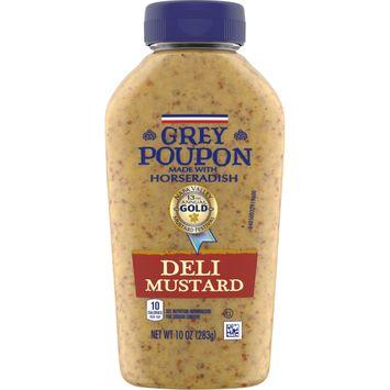 Grey Poupon Deli Mustard, 10 oz Squeeze Bottle