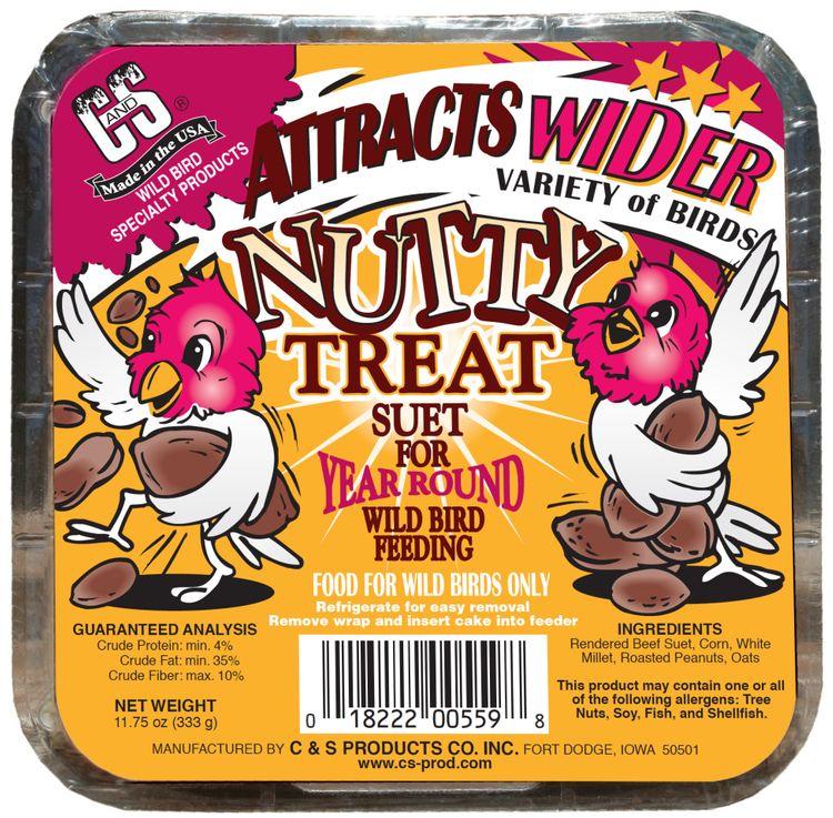C&S Nutty Treat 11.75 Ounces