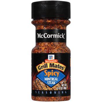 McCormick Grill Mates Spicy Montreal Steak Seasoning, 3.12 Oz