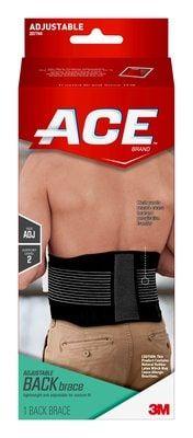 ACE™ Brand Adjustable Back Brace