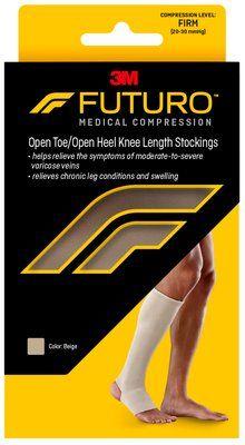 FUTURO™ Open Toe/Open Heel Knee Length Stockings