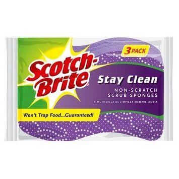 Scotch-Brite® Stay Clean Scrub Sponge