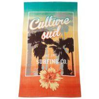 Serviette de bain drap de plage Carmine surfing co 1977 Orange 74022