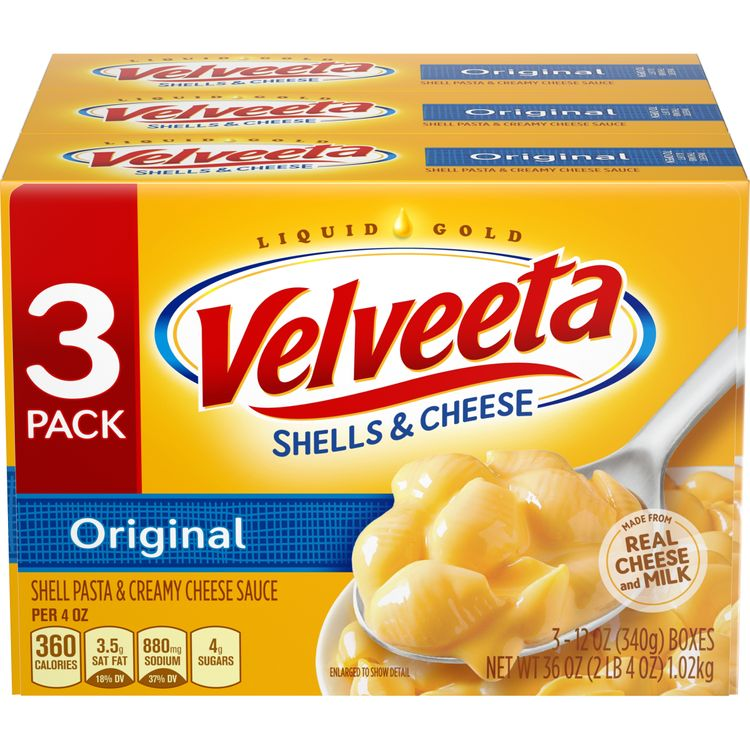 VELVEETA Shells and Cheese Original Flavor