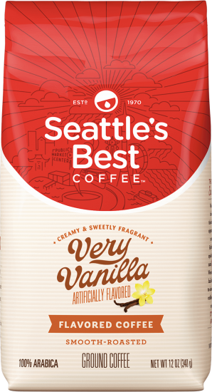 Seattle's Best Coffee Very Vanilla - Ground Coffee