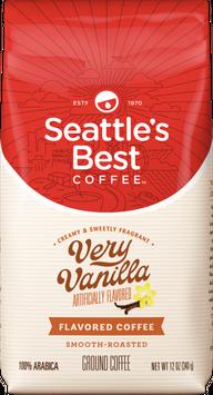 Slide: Seattle's Best Coffee Very Vanilla - Ground Coffee