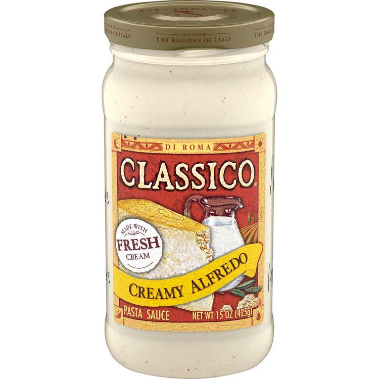 Classico Creamy Alfredo Pasta Sauce, 15 oz. Jar