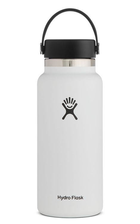 Hydro Flask 32 oz Wide Mouth - White