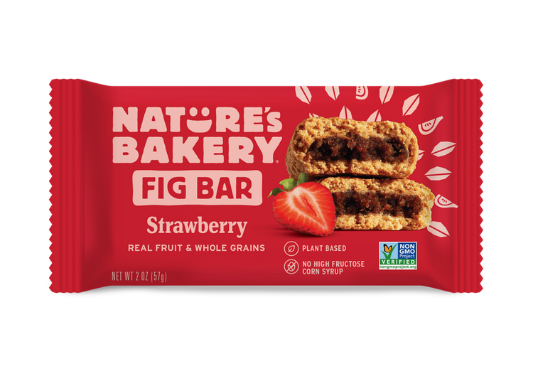 Nature's Bakery Whole Wheat Fig Bars Strawberry