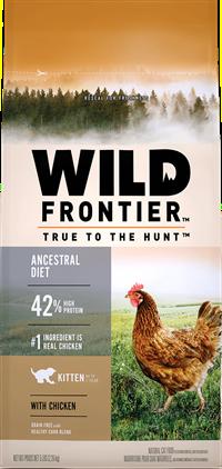 Wild Frontier Kitten Ancestral Diet with Chicken