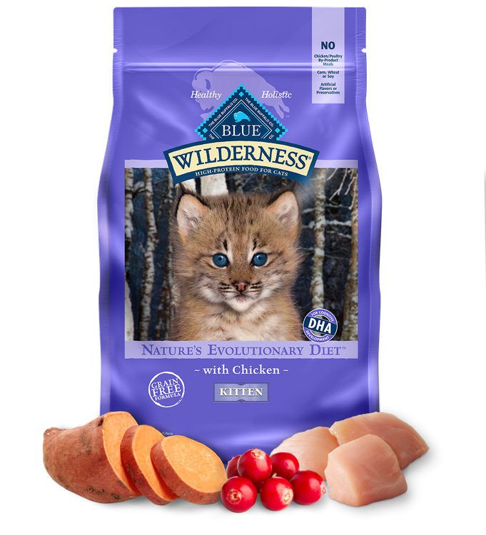 Blue Wilderness™ Nature'S Evolutionary Diet With Chicken For Kittens Dry Food