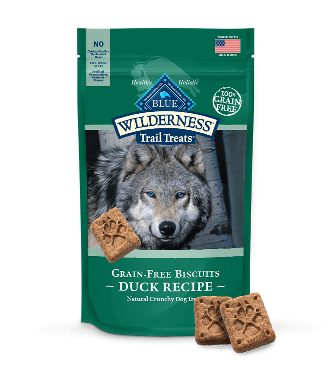 Blue Wilderness Trail Treats Dog Treats Duck Biscuits