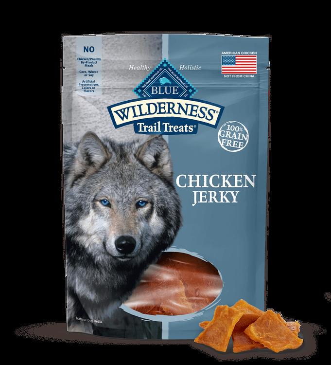 Blue Wilderness Trail Treats Dog Treats Chicken Jerky