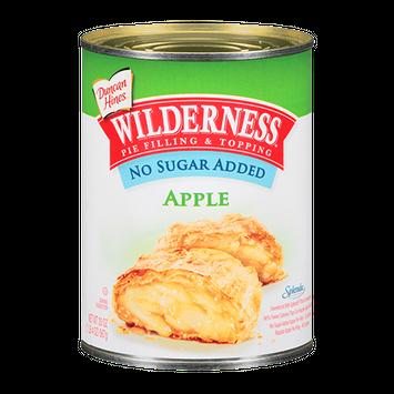 Duncan Hines Wilderness No Sugar Added Apple