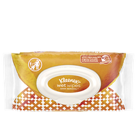 Kleenex® Wet Wipes™ Germ Removal for Hands and Face