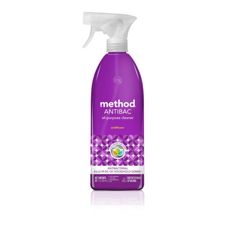 Method Antibacterial All-Purpose Cleaner, Wildflower, 28 Ounce