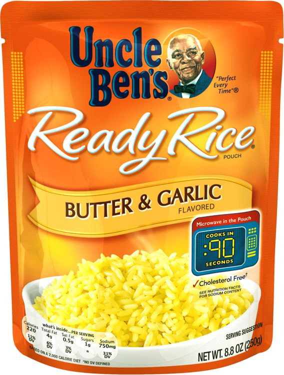 Uncle Ben's® Ready Rice, Butter & Garlic, 8.8 Oz. Pouch