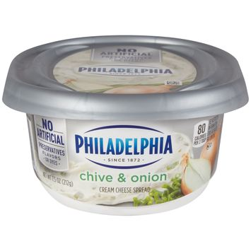 Philadelphia Chive and Onion Cream Cheese Spread