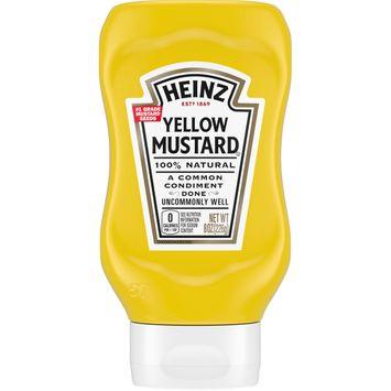 Heinz 100% Natural Yellow Mustard